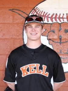1B Carson Hughes, Kell High School